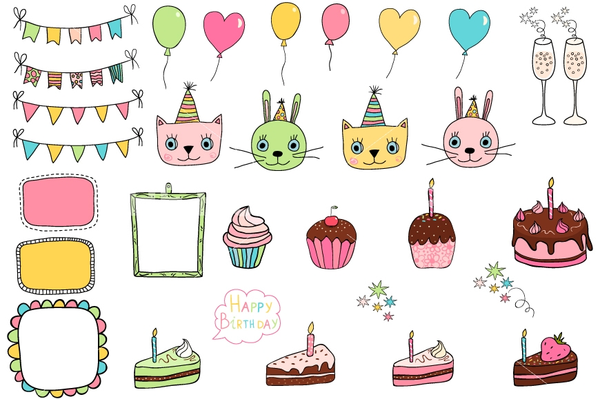 Cute birthday clipart 4 » Clipart Station.