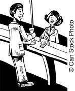 Cashier Vector Clip Art EPS Images. 1,833 Cashier clipart vector.