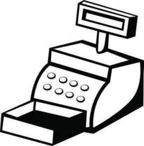 Cashier Clipart.