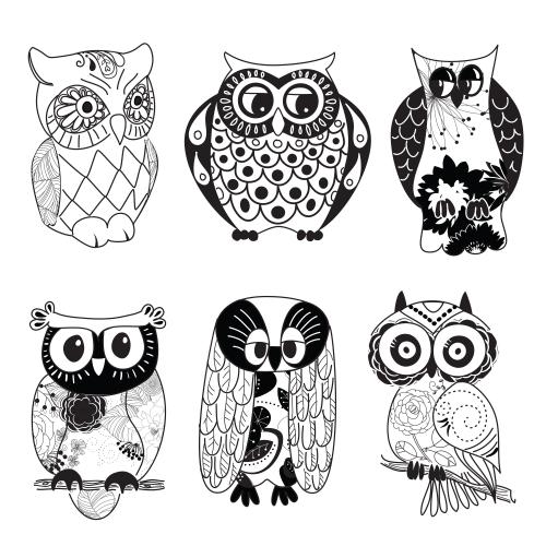 Owl Printable Clipart.