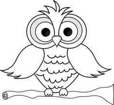 96+ Owl Clip Art Black And White.
