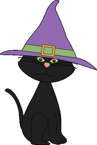 Cute Black Cats Clipart.