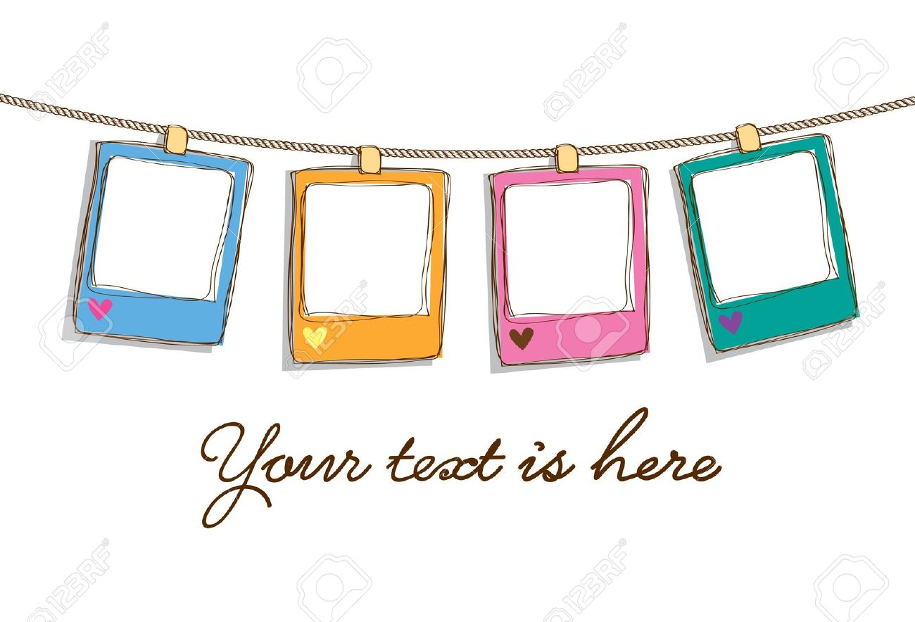 cute blank clipart frame - Clipground