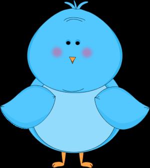 Blue Bird Clip Art Cute.