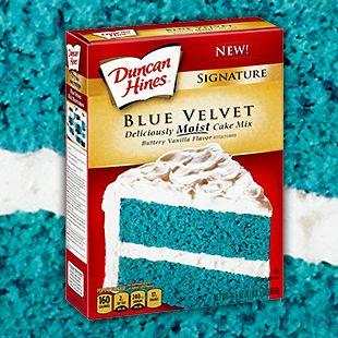 Cute Blue Velvet Cupcakes Clipart.