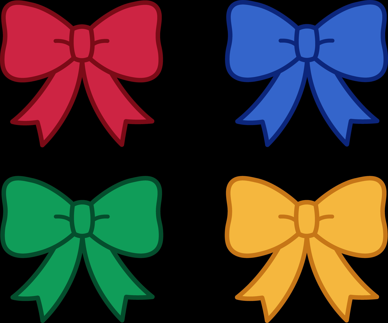 Cute Bow Clipart 14.