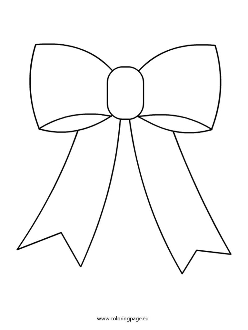 Bows Coloring Pages.