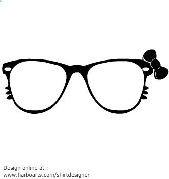 Sunglasses Cute Clipart.