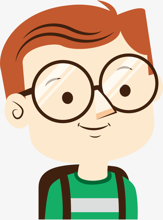 Download Free png Cute Glasses Boy, Cute Clipart, Boy Clipart.