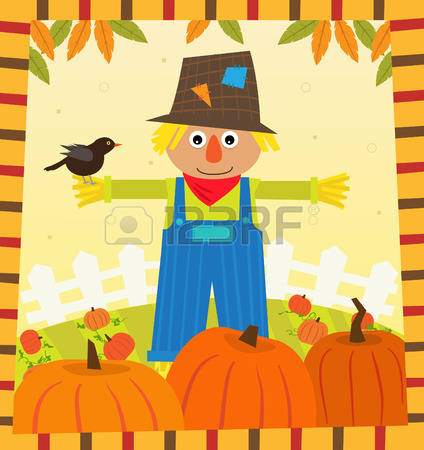 2,753 Scarecrow Stock Vector Illustration And Royalty Free.