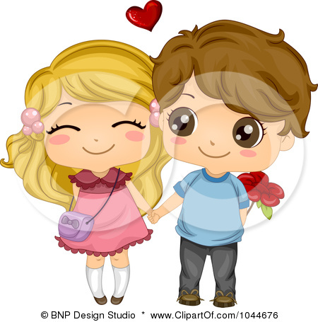 Clipart Of Cute Girls And Boys.