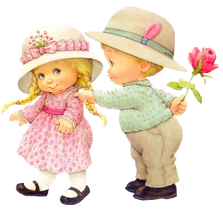 Cute Boys And Girls Clipart.