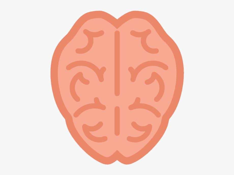 Cute Brain Clipart.