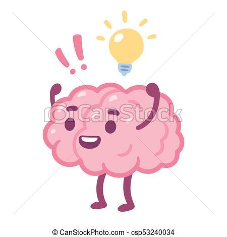 Cartoon brain idea.
