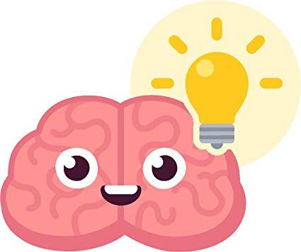 Amazon.com: Adorable Cute Baby Brain Cartoon Emoji Vinyl Decal.