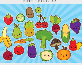 Cute food clipart kawaii clip art Japanese cute sushi.