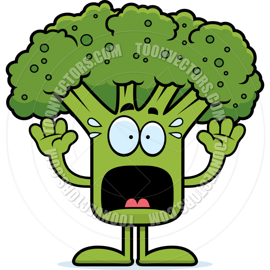 Broccoli Cartoon.