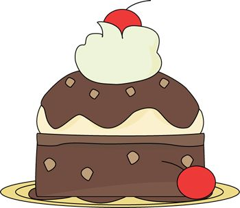 Watch more like Brownie Sundae Clip Art.