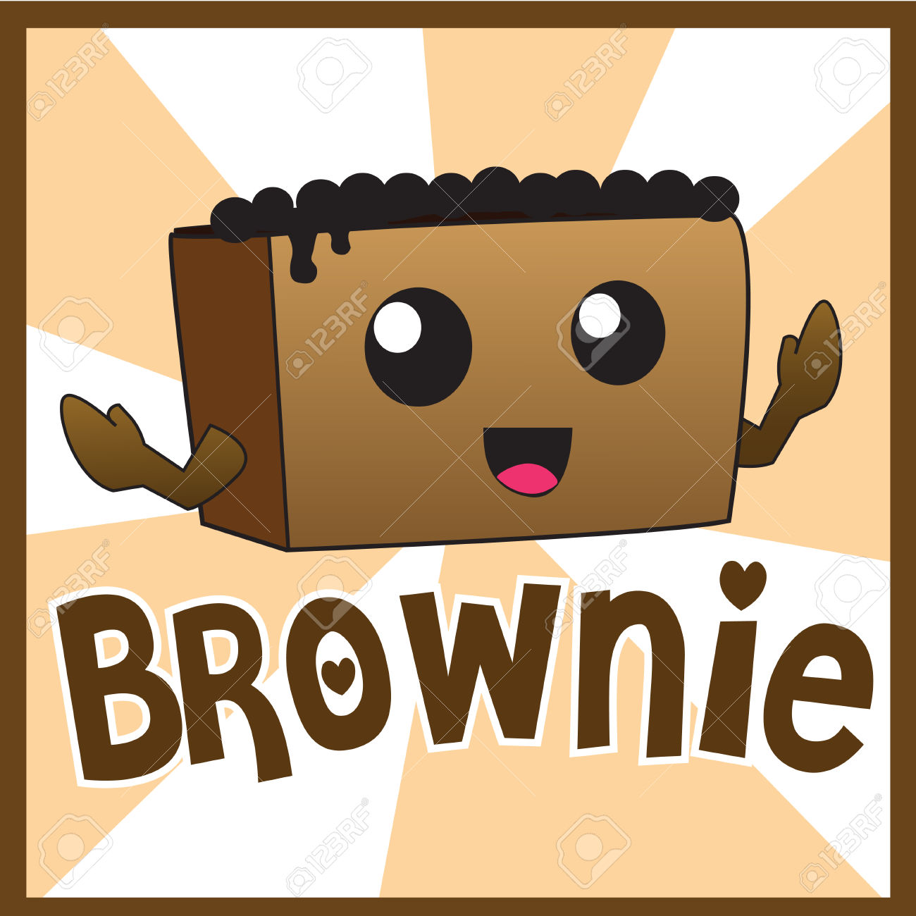 Showing post & media for Cute brownie cartoon.