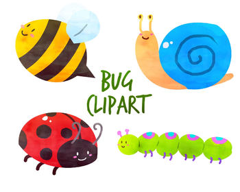 Cute Bugs Clipart Worksheets & Teaching Resources.