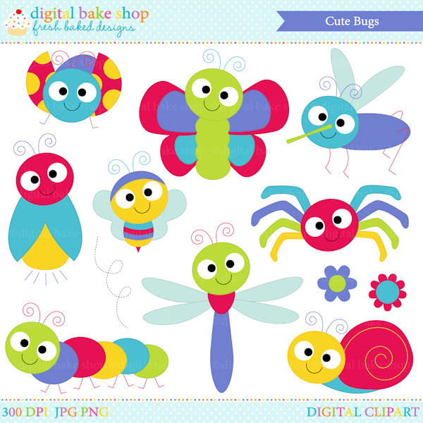 Free Cute Insect Cliparts, Download Free Clip Art, Free Clip Art on.