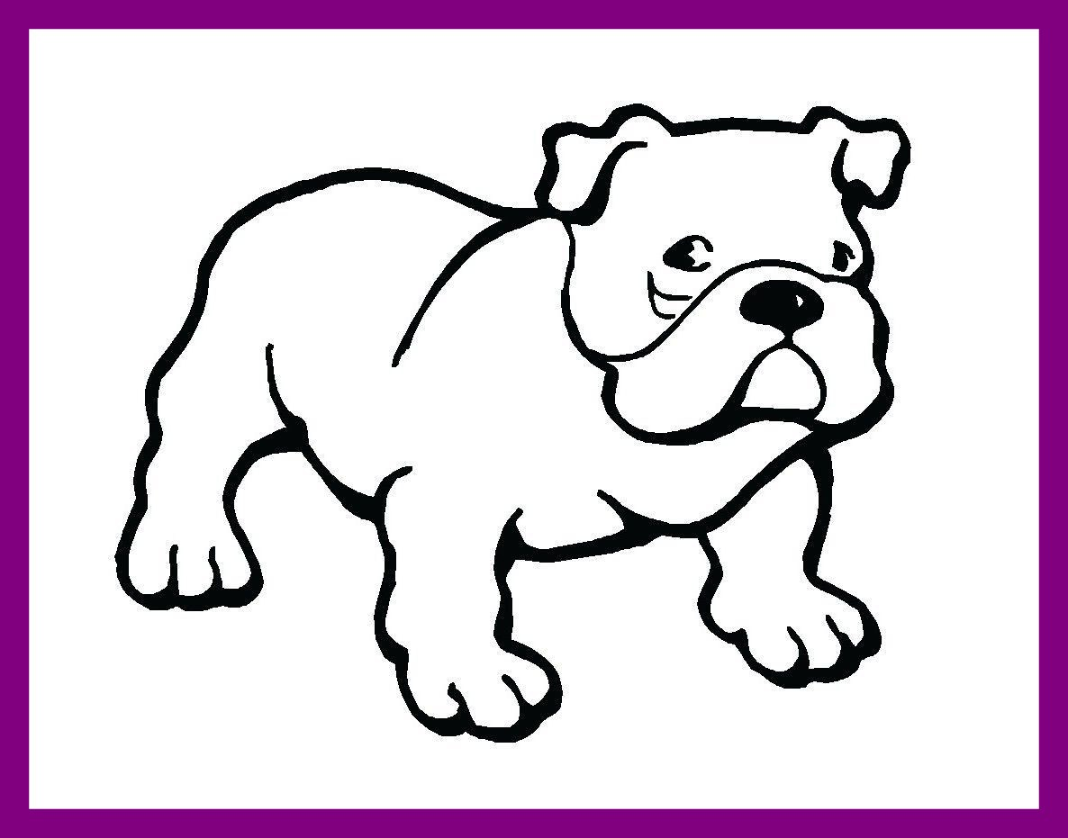 Cute bulldog clipart 5 » Clipart Station.
