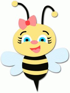 Library of baby girl bumblebee graphic free download png.