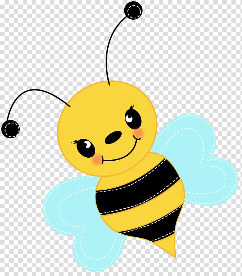 Bumblebee Cuteness , Cute Bee transparent background PNG.