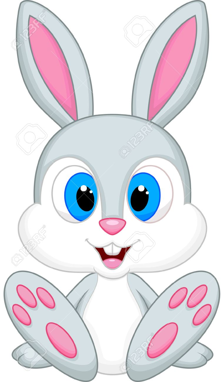 Cute bunny clipart 2 » Clipart Station.