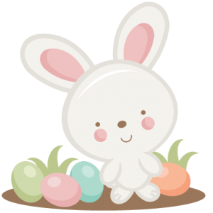 Easter Bunny SVG scrapbook cut file cute clipart files for.