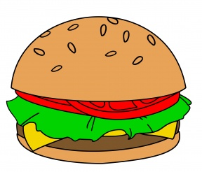 Burger Bun Clipart.