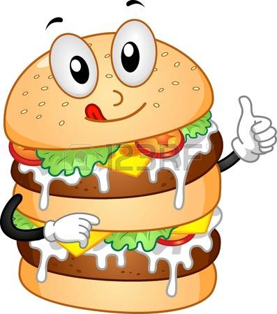 Cute Burger Clipart on Pizza Clip Art Pics Funny Cartoons