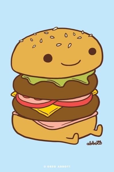 52 best images about Burger Art on Pinterest.