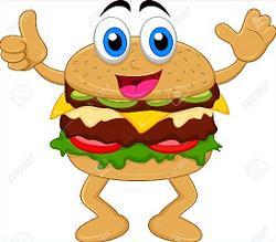 Free Burger Clipart.