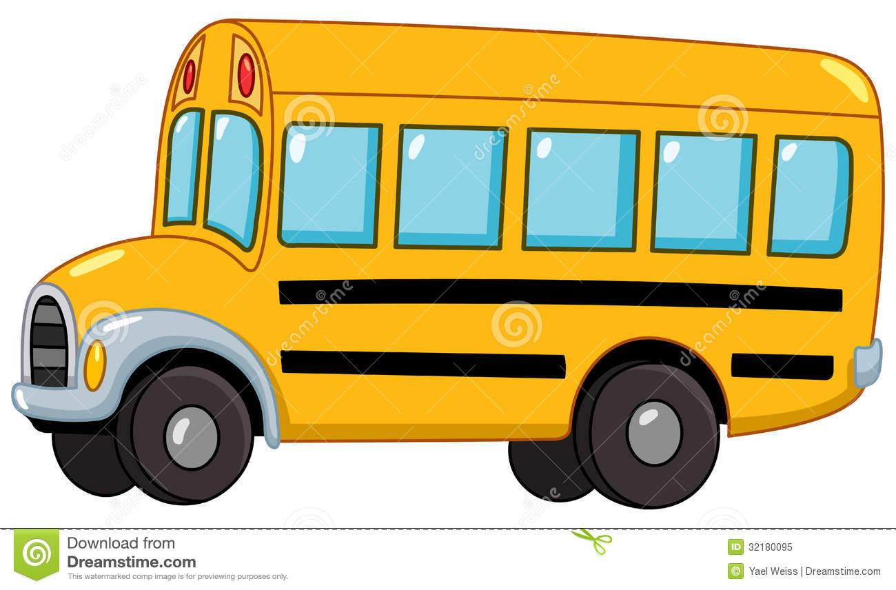 Cute Bus Clipart.