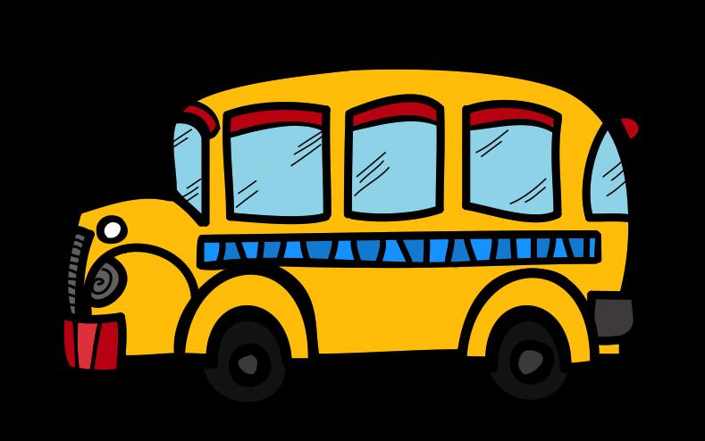 Cute School Bus Clipart Free.
