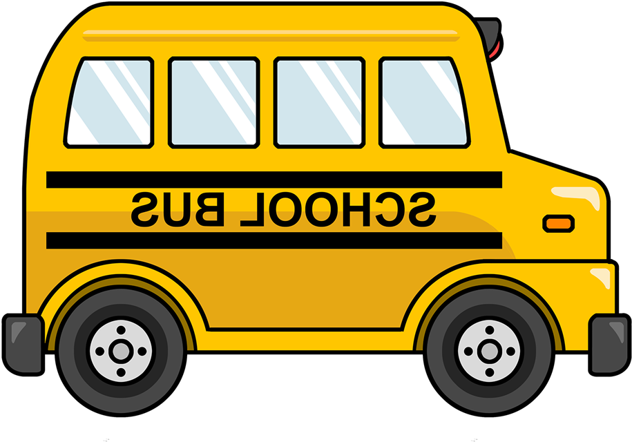 Free Cute Cartoon School Bus Clip Art.