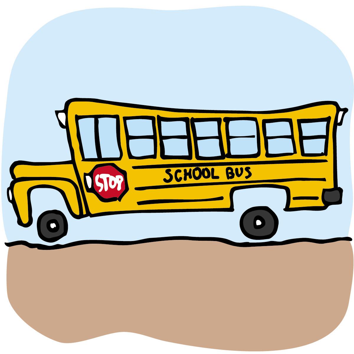 Cute School Bus Clip Art 7 1200x1200jpg clipart free image.
