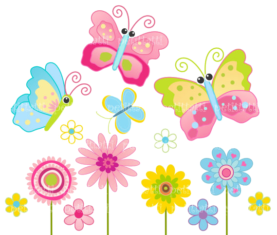 Cute Butterfly Clipart Png.