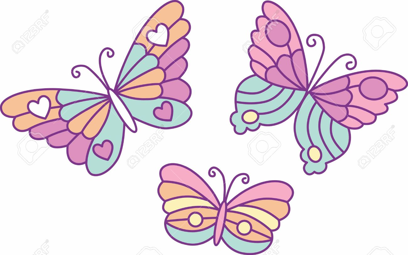 Cute Butterflies.
