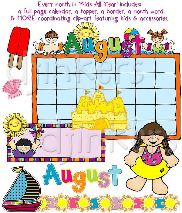 Cute calendar clipart 4 » Clipart Station.