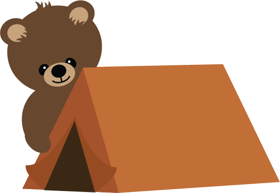 Camping Tent Clipart.