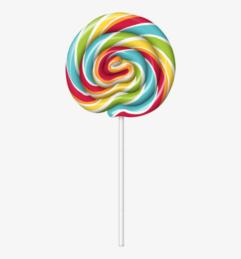 Cute Clipart ❤ Lollipop Candy Clipart, Food Clipart,.