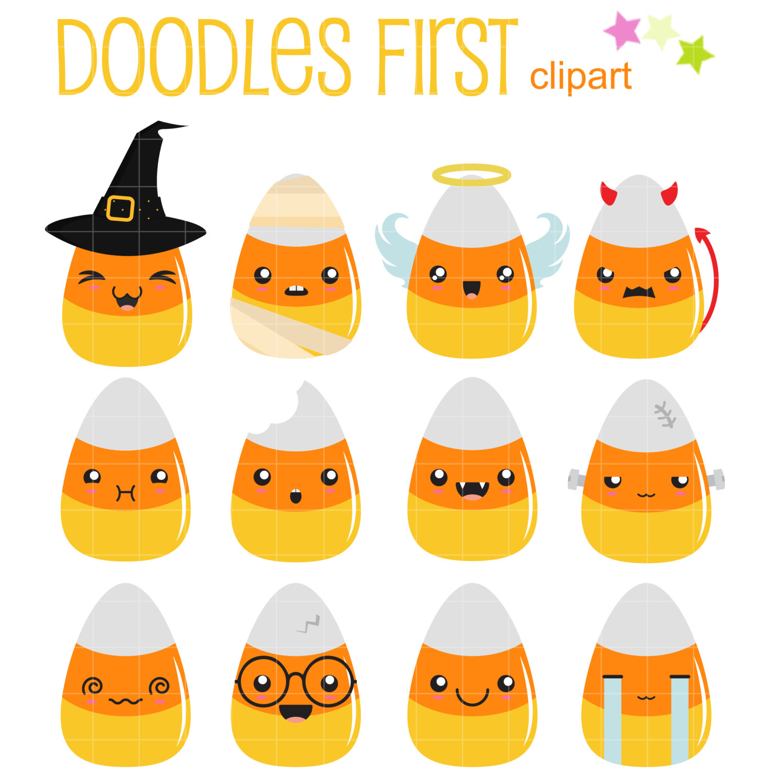Candy Corn Clip Art & Look At Clip Art Images.
