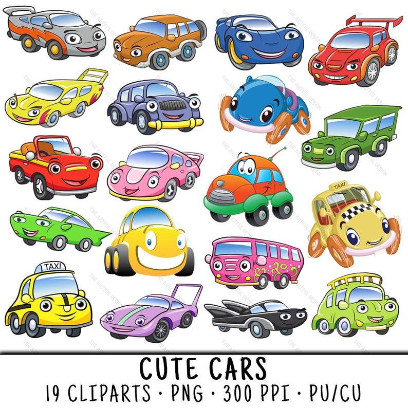 Car Clipart, Cute Car Clipart, Car Clip Art, Cute Car Clip Art, Cute Car  PNG, PNG Cute Car, Car PNG, Clipart Car, Clip Art Car, Cute Cars.