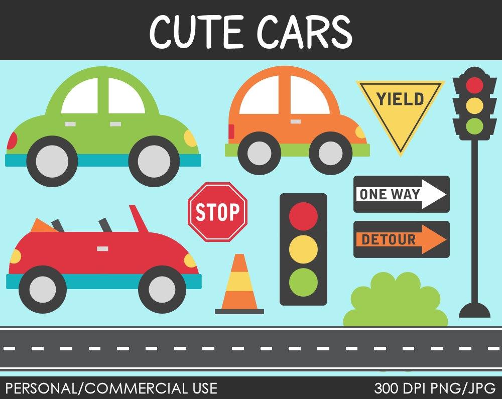 Cute Car Cliparts.