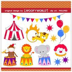 Cute Carnival Clipart.