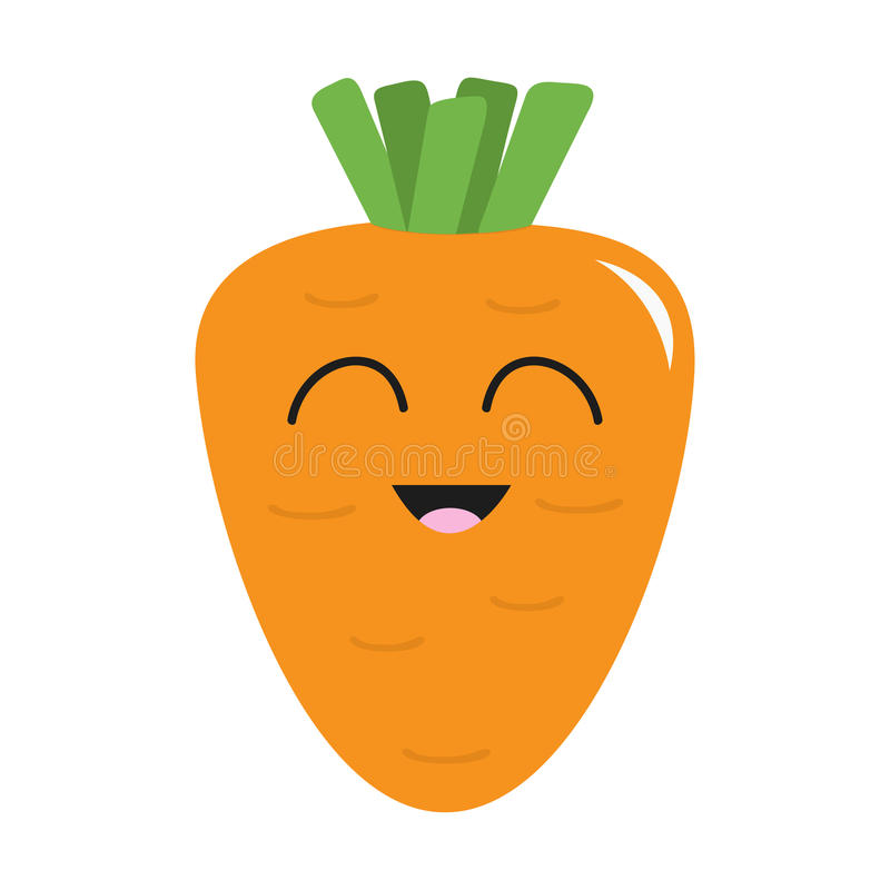 Carrot Face Stock Illustrations.