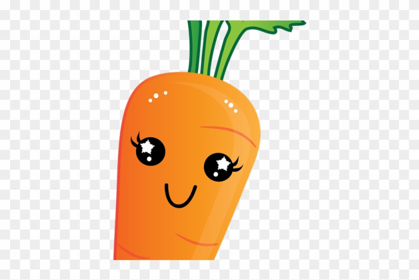 Cartoon Clipart Carrot.