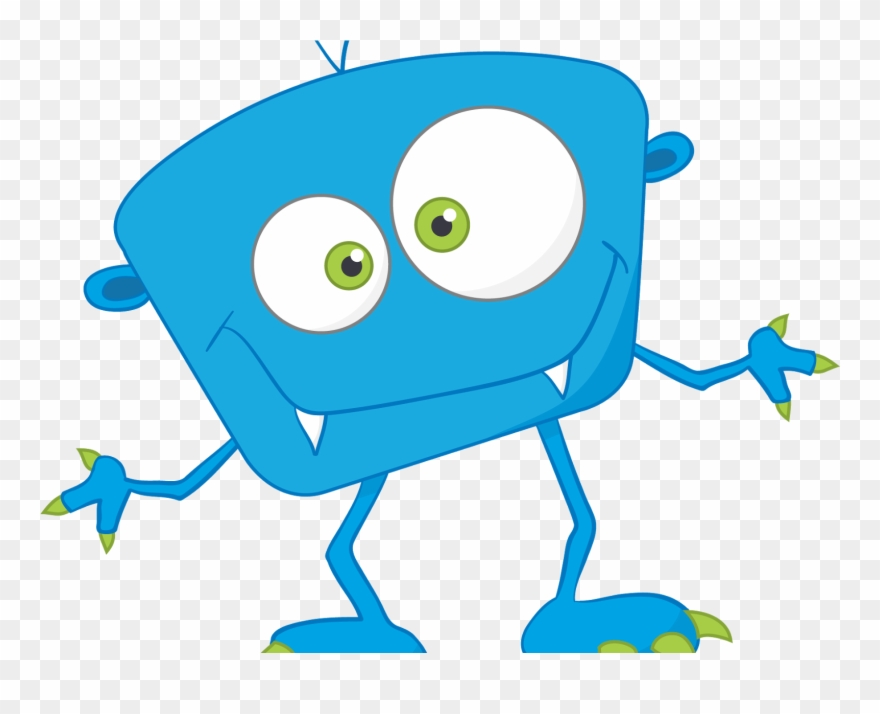 Cute Cartoon Monsters Png Clipart (#4164451).